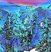 Heaven At Noon Art Print