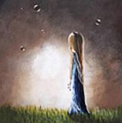 Heaven Heard Her Prayers Tonight By Shawna Erback Art Print