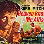 Heaven Knows, Mr. Allison, L-r Robert Art Print