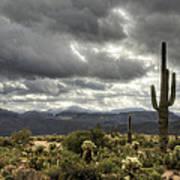 Heavenly Desert Skies  Art Print