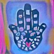 Heavenly Hamza 1 Art Print by Tony B Conscious