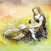 Heavenly Peace Art Print