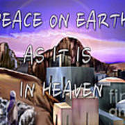 Heavenly Peace On Earth  Art Print