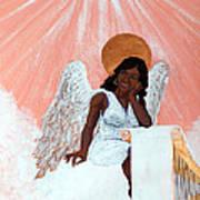 Heavenly Soul Art Print