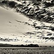 Heavenly Summer Sky Art Print