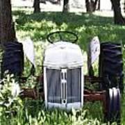 Heavenly Tractor Art Print
