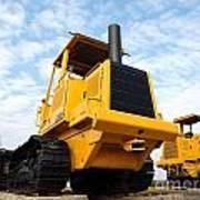 Heavy Construction Equipment Art Print