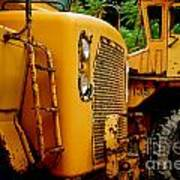 Heavy Equipment Art Print by Amy Cicconi