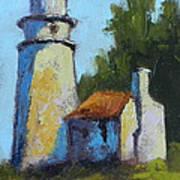 Heceta Head Light - Oregon Landscape Art Print