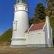 Heceta Head Lighthouse 1 C Art Print