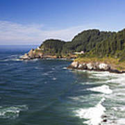 Heceta Head Lighthouse 2 A Art Print