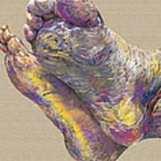 Heels And Toes Art Print