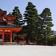 Heian Temple Square I Art Print
