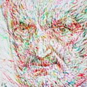 Heidegger Art Print