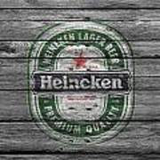 Heineken Art Print