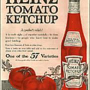 Heinz 1910s Usa Art Print