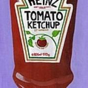 Heinz Tomato Ketchup Art Print