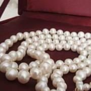 Heirloom Pearls Art Print