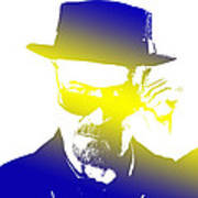 Heisenberg-3 Art Print