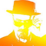 Heisenberg - 5 Art Print