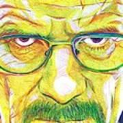 Heisenberg Art Print by Kyle Willis