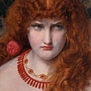 Helen Of Troy Art Print by Anthony Frederick Augustus Sandys