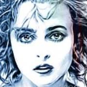 Helena Bonham-carter Art Print