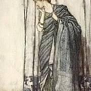 Helena, Illustration From Midsummer Art Print