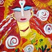 Helianna - Angel Of Divine Serenity Art Print