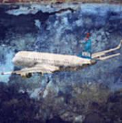 Hell Of A Flight Art Print