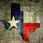 Hello Texas Art Print