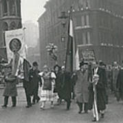 �help Hungary� Parade In Streets Of London Art Print