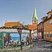 Helsingor Street Art Print
