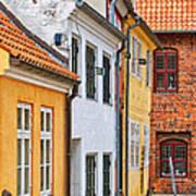 Helsingor Town Centre Art Print