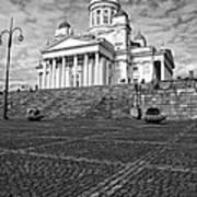 Helsinki Cathedral Art Print