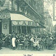 Hemingway's Paris 1925 Art Print