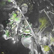 Hendrix X-ray #1 Art Print by Erik Franco