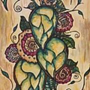 Henna Hops Study 1 Art Print