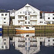 Henningsvaer Panoramic View Art Print
