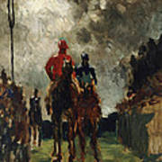 Henri De Toulouse Lautrec Art Print by The Jockeys