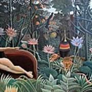 Henri Rousseau The Dream 1910 Art Print