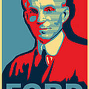 Henry Ford Art Print