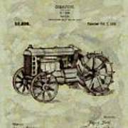 Henry Ford Tractor Patent Art Print