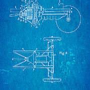 Henry Ford Transmission Mechanism Patent Art 1911 Blueprint Art Print