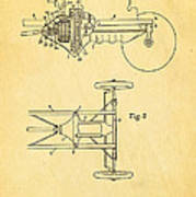 Henry Ford Transmission Mechanism Patent Art 1911 Art Print