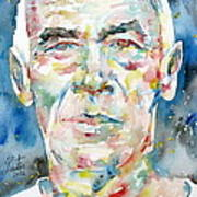 Henry Miller Portrait.1 Art Print