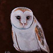 Henry The Owl Art Print