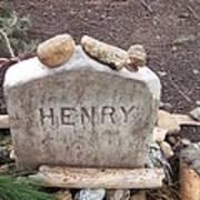 Henry Thoreau Art Print