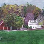 Henry Warren's Red Barn Art Print