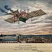 Henson's Aerial Steam Carriage 1843 Art Print